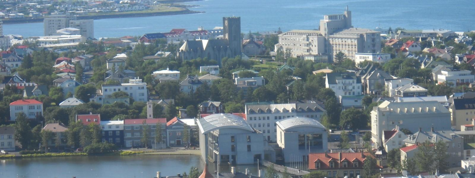 Reykjavik city overview